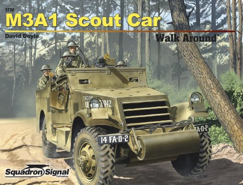 M3A1 White Scout Car - Armor Walk Around No. 20 (9780897476140) by David Doyle