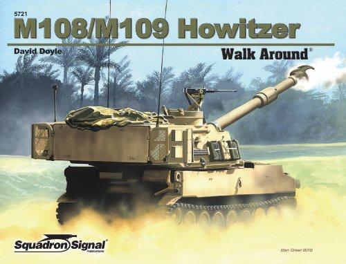 9780897476171: M108 / M109 Howitzer - Armor Walk Around No. 21