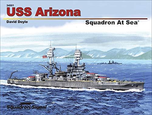 9780897476409: USS Arizona - Squadron at Sea No. 1