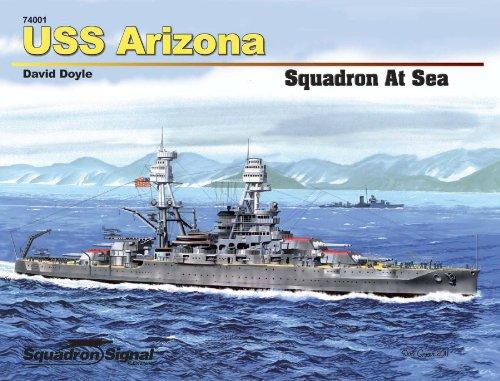 9780897476416: USS Arizona (Squadron at Sea, No. 74001)