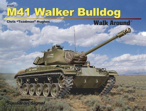 9780897476430: M41 Walker Bulldog (Walk Around, No. 27024)