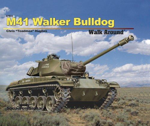 9780897476447: M41 Walker Bulldog (Walk Around, No. 67024)