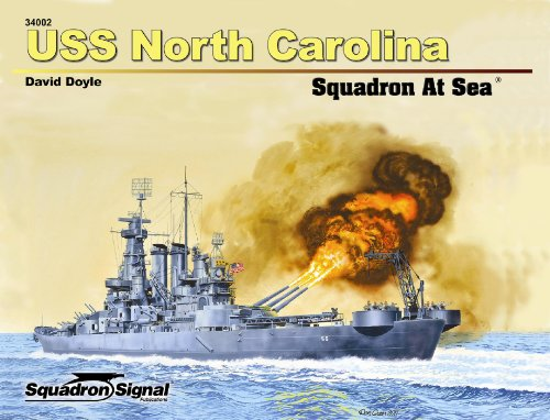 9780897476478: USS North Carolina Squadron at Sea (34002)