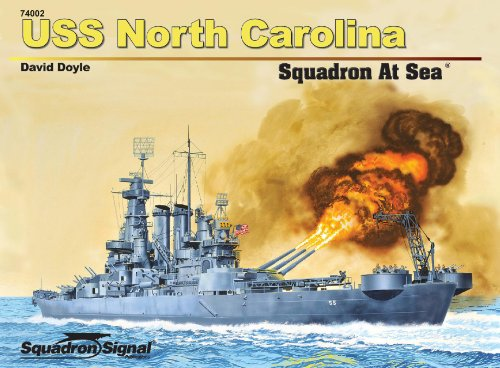 9780897476485: USS North Carolina Squadron at Sea (74002)