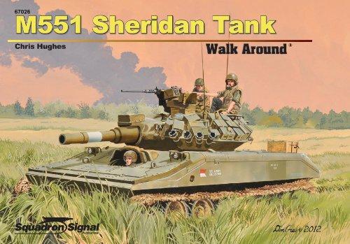 M551 Sheridan Walk Around - Hardcover: Chris Hughes
