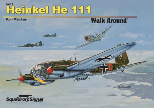 9780897476935: Heinkel He 111 Walk Around - Hardcover