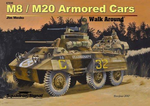 M8/M20 Armored Cars Walk Around (67030): Mesko, Jim