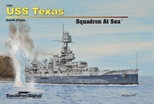 9780897477079: USS Texas - Squadron at Sea (74003)