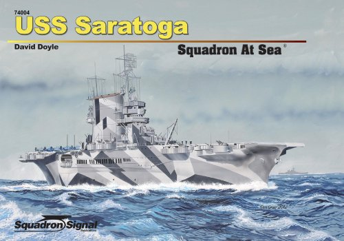 USS Saratoga Squadron at Sea (74004) (9780897477116) by David Doyle
