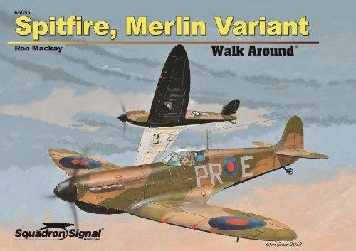 9780897477314: Spitfire, Merlin Variant Walk Around
