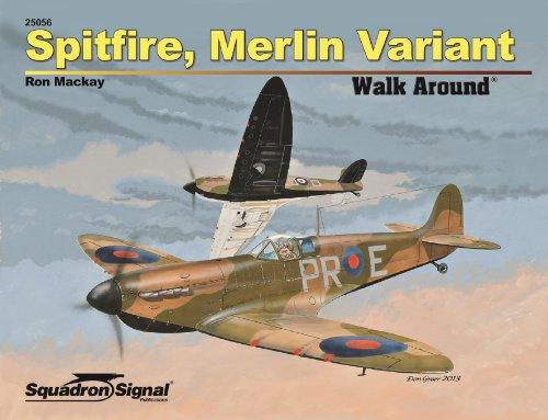 9780897477321: Spitfire, Merlin Variant Walk Around