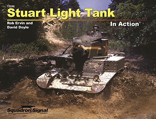 Stuart Light Tank In Action (12055): Rob Ervin