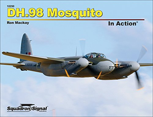 9780897478519: DH.98 Mosquito in Action