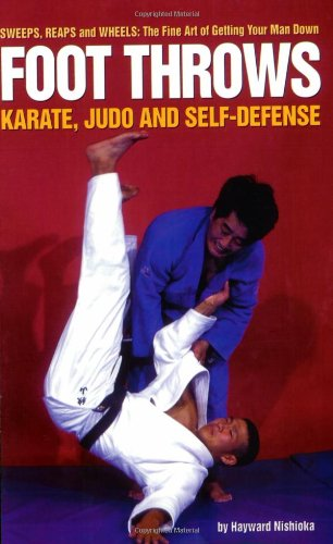 9780897500258: Foot Throws: Karate, Judo and Self-Defense