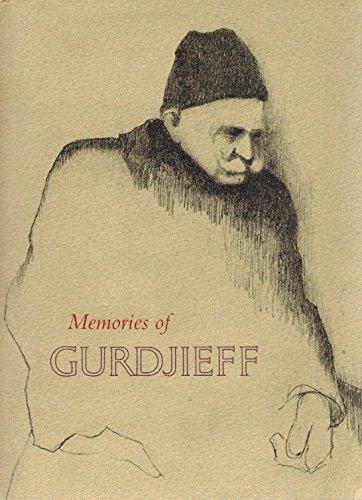9780897560009: Memories of Gurdjieff