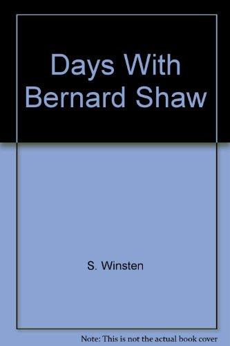 9780897606905: Days With Bernard Shaw