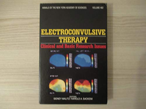 9780897663205: Electroconvulsive therapy: Clinical and basic research issues (Annals of the New York Academy of Sciences)