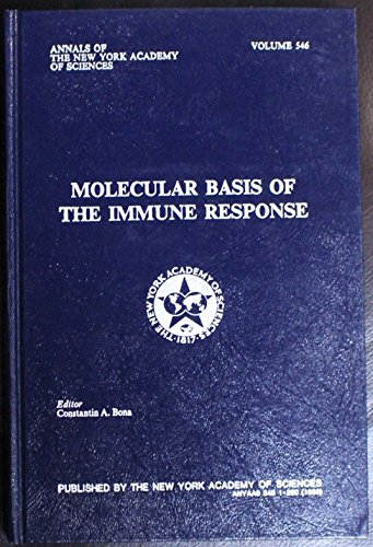 9780897664868: Molecular Basis of the Immune Response (Annals of the New York Academy of Sciences)