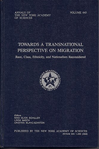 9780897667036: Towards a Transnational Perspective on Migration: Race, Class, Ethnicity, and Nationalism Reconsidered (Annals of the New York Academy of Sciences)