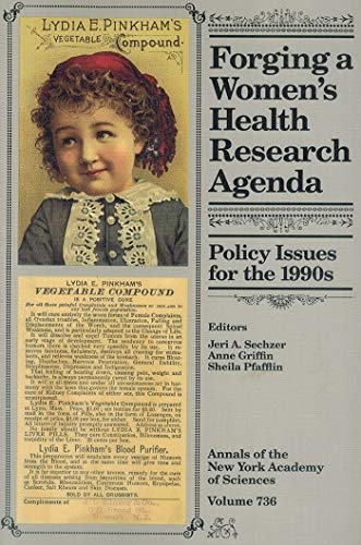 Forging a Women's Health Research Agenda (Annals of the New York Academy of Sciences, Volume ...