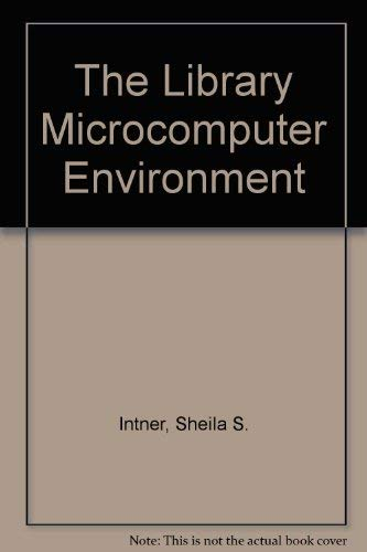 The library microcomputer environment. Management issues