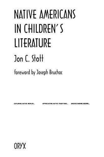 9780897747820: Native Americans in Children's Literature