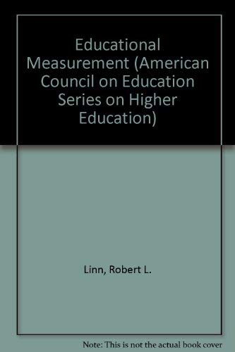 9780897748025: Educational Measurement (American Council on Education/Oryx Series on Higher Education)