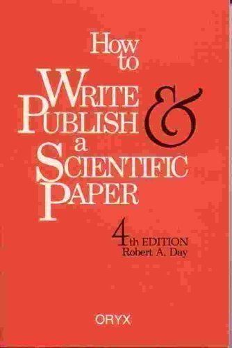 9780897748650: How to Write & Publish a Scientific Paper