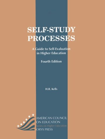 9780897749039: Self-study processes : a guide to self-evaluation in higher education