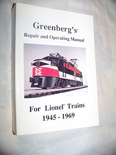 9780897780407: Greenberg's repair & operating manual for Lionel trains