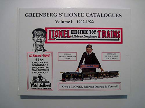 Greenberg's Lionel Catalogue Book 1902-1922: Greenberg, Bruce C.