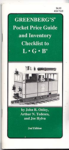 9780897781589: Greenberg's Pocket Price Guide and Inventory Checklist to Lgb
