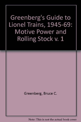 9780897781930: Greenberg's Guide to Lionel Trains, 1945-1969