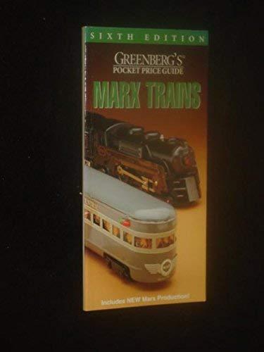 9780897784375: Greenberg's Pocket Guide: Marx Trains (Greenberg's Pocket Price Guide)