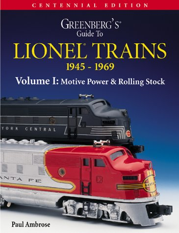 9780897784719: Greenberg's Guide to Lionel Trains 1945-1969: Motive Power & Rolling Stock