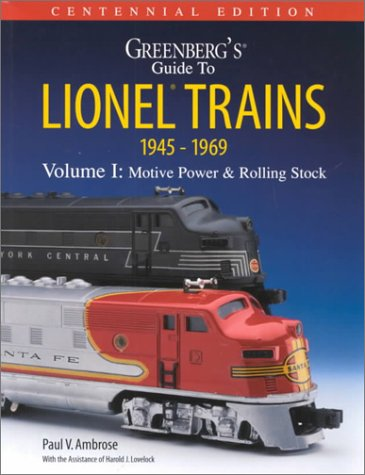 9780897784726: Greenberg's Guide to Lionel Trains 1945-1969: Motive Power & Rolling Stock