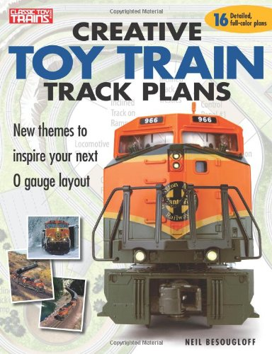 9780897785303: Creative Toy Train Track Plans (Classic Toy Trains Books)