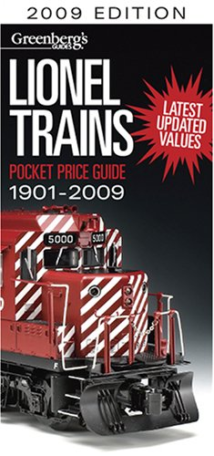 9780897785358: Greenberg's Guides Lionel Trains Pocket Price Guide 2009 (Greenberg's Pocket Price Guide Lionel Trains, 1901 - 2009