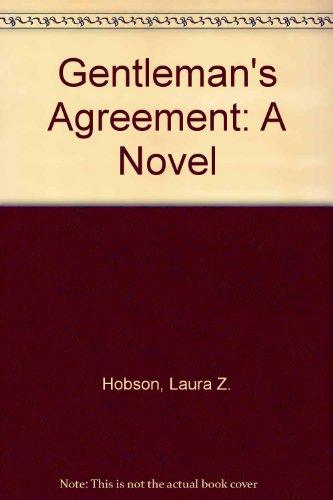 9780897830102: Gentleman's Agreement: A Novel