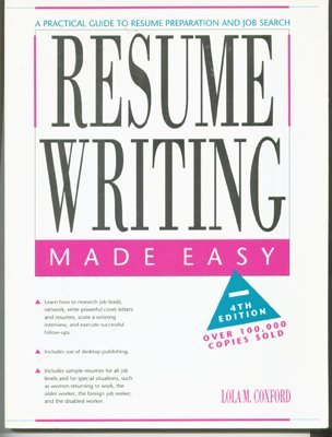 9780897878159: Resume writing made easy