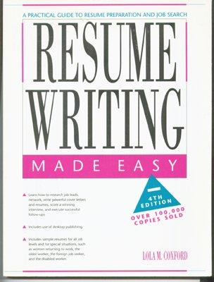 9780897878159: Resume writing made easy