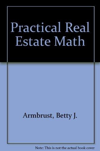 9780897879200: Practical Real Estate Math