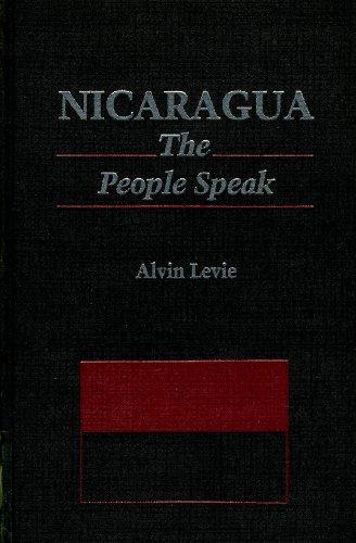 9780897890830: Nicaragua: The People Speak