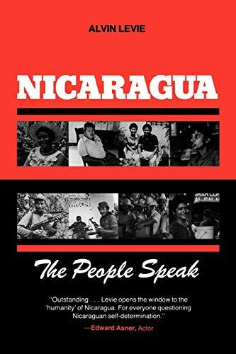 9780897890847: Nicaragua: The People Speak