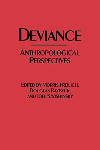 9780897892049: Deviance: Anthropological Perspectives