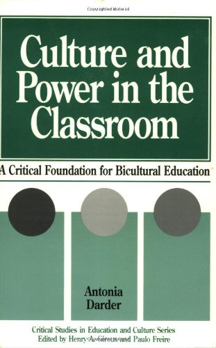 9780897892391: Culture and Power in the Classroom: A Critical Foundation for Bicultural Education (Critical Studies in Education and Culture)
