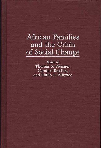 9780897894739: African Families and the Crisis of Social Change
