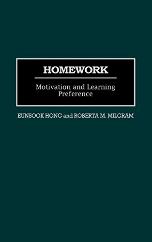 9780897895859: Homework: Motivation and Learning Preference