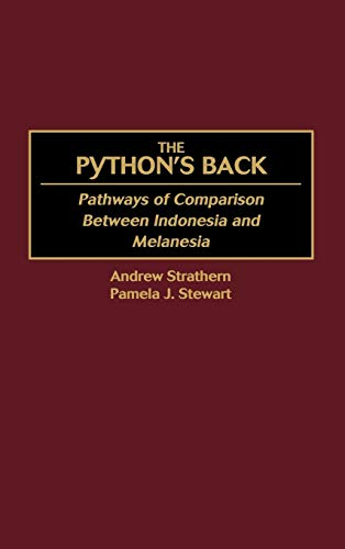 9780897897075: The Python's Back: Pathways of Comparison Between Indonesia and Melanesia