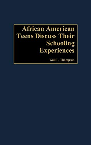 9780897898430: African-American Teens Discuss Their Schooling Experiences